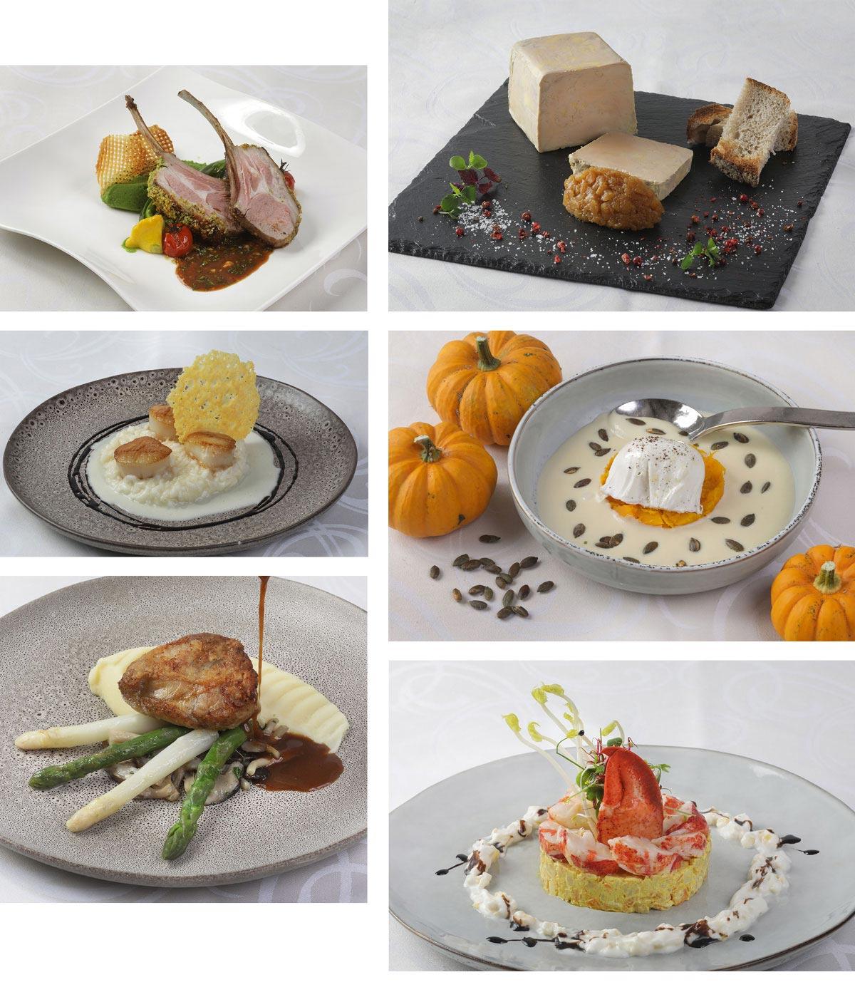 photos des plats de la semaine